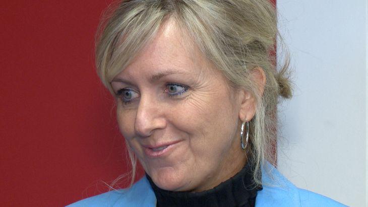 Andrée Laforest, ministre des Affaires municipales et de l'Habitation