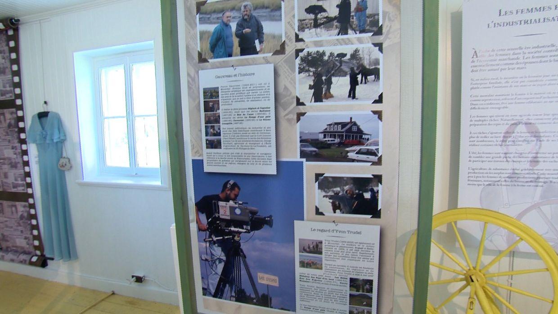 exposition musée de Kamouraska sur le tournage de la série Cormoran
