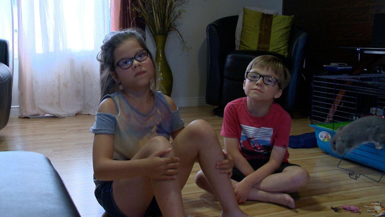 Kelly-Ann et Maël Thibault